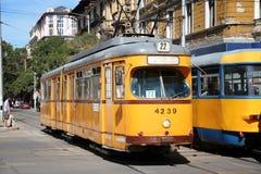 Trasporto pubblico di Sofia Immagini Stock