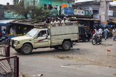 Trasporto pubblico in India Fotografie Stock Libere da Diritti