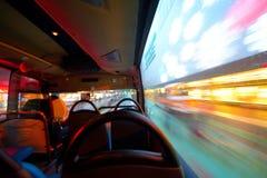 Trasporto pubblico nella città Immagini Stock Libere da Diritti