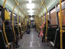 Trasporto pubblico a Roma, Italia immagini stock