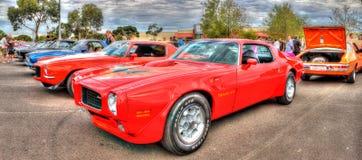 Trasporto rosso di Pontiac fotografie stock libere da diritti
