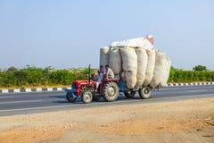 Trasporto stradale in India Immagine Stock Libera da Diritti