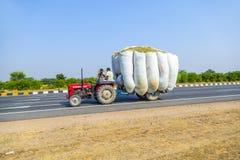 Trasporto stradale in India Immagini Stock Libere da Diritti
