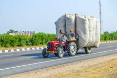 Trasporto stradale in India Fotografie Stock Libere da Diritti