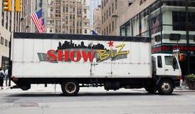 Trasporto su autocarro dello show business Immagine Stock Libera da Diritti
