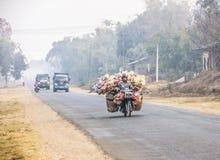 Trasporto sulla motocicletta immagini stock