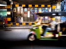 Trasporto Tailandia Bangkok della città del taxi del tuk di Tuk Fotografia Stock Libera da Diritti