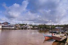 Trasporto tradizionale in Indonesia Fotografia Stock Libera da Diritti