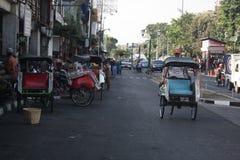 Trasporto tradizionale Indonesia fotografia stock