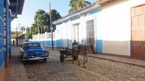 Trasporto tradizionale in Trinidad Immagine Stock Libera da Diritti