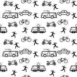 Trasporto urbano Fotografie Stock Libere da Diritti