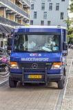 Trasporto Van At Diemen The Netherlands 2018 dei soldi di G4S fotografia stock