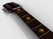Trastes de la guitarra Fotos de archivo