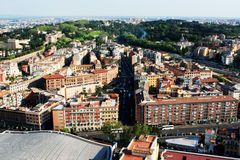 Trastevere area seen from above stock photo
