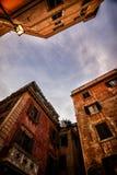 Trastevere hus Arkivfoto