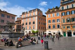 Trastevere, Rome Royalty-vrije Stock Afbeeldingen
