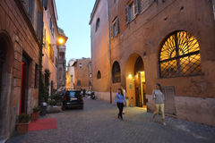 Trastevere in Rome Royalty Free Stock Photography