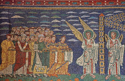 trastevere rome santa мозаики maria Стоковые Фото