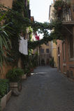 Trastevere sąsiedztwo Zdjęcie Royalty Free