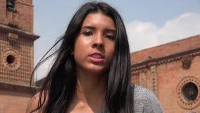 Trastorno y muchacha adolescente enojada Imagenes de archivo
