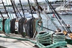 Trastos de la nave Imagen de archivo libre de regalías