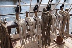 Trastos de la nave Foto de archivo libre de regalías
