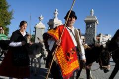 Trasumanza. Madrid - la Spagna Fotografia Stock