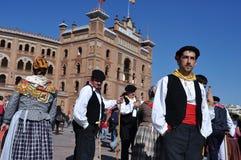 Trasumanza Madrid - in Spagna Immagine Stock Libera da Diritti