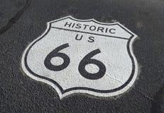 66 trasy Obraz Stock