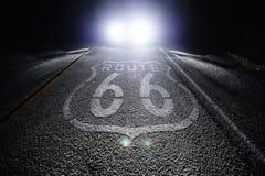 66 trasy Obrazy Royalty Free