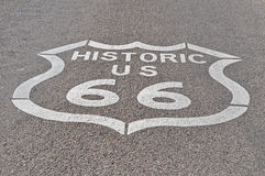 66 trasy Obraz Royalty Free