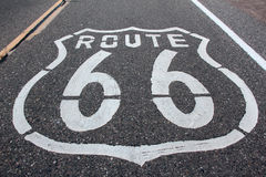 66 trasy Zdjęcie Stock