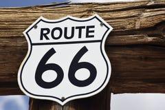 66 trasy Zdjęcie Royalty Free