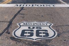 Trasy 66 Midpoint obraz stock