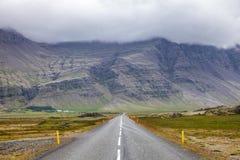 Trasy 1 obwodnica Wschodni Iceland Scandinavia obraz royalty free