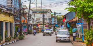Trat city royalty free stock photography
