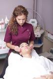 Tratamento cosmético fotografia de stock