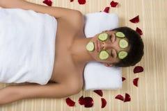 Tratamento da beleza. foto de stock royalty free