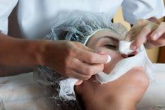 Tratamento da face Fotos de Stock Royalty Free