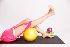 Tratamento da fisioterapia para o joelho Imagens de Stock Royalty Free