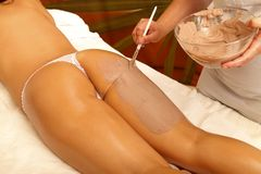 Tratamento da pele Fotos de Stock
