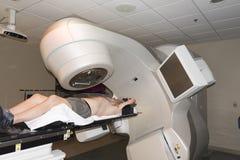Tratamento da radioterapia fotografia de stock