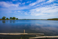 Tratamento de águas residuais Tailândia Fotos de Stock