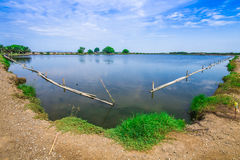 Tratamento de águas residuais Tailândia Foto de Stock Royalty Free