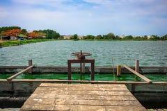 Tratamento de águas residuais Tailândia Fotografia de Stock Royalty Free