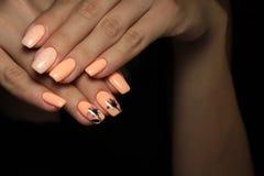 tratamento de mãos claro bonito Imagens de Stock Royalty Free