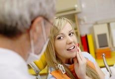 Tratamento dental fotografia de stock