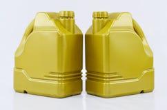 Tratamento do óleo de motor Foto de Stock