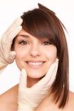 Tratamento do colagénio da beleza Imagem de Stock Royalty Free