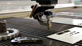 Tratamento do metal com água Hidro corte abrasivo filme